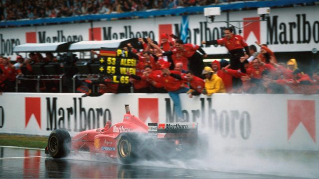 Schumacher in Spain History