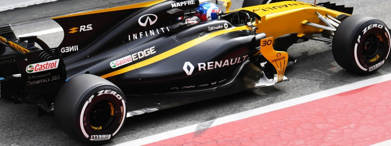 Renault is one of four engine manufacturers and one of three factory teams (building their own engine and chassis). The other factory teams, Mercedes and Ferrari, have perfected their cars over a number of years. Renault is in year two of development after a brief hiatus. Things are looking up but keep your expectations in check.
